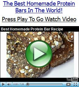 Build muscle with these high protein bars